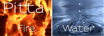 Pitta Dosha: Element - Fire and Water
